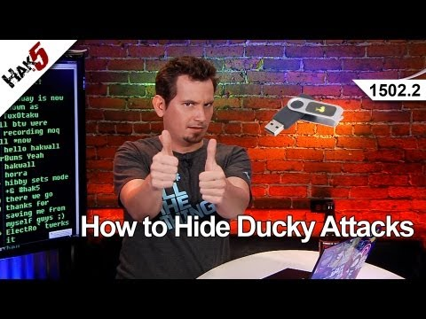 How to Hide Ducky Attacks, Hak5 1502.2