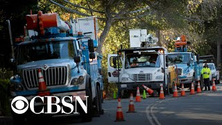 PG&E cuts power to parts of Northern California amid wildfire threat