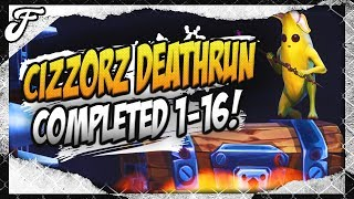 Cizzorz Deathrun 3.0 Completed on Console w/ Peely Banana Skin (Level 1-16)