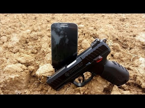 CAN A CELL PHONE SAVE YOUR LIFE? .22lr VS SAMSUNG GALAXY S4.