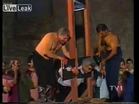 Beheading Caught On Camera