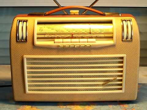 Kofferradio Philips Annette LD471AB mit Röhren