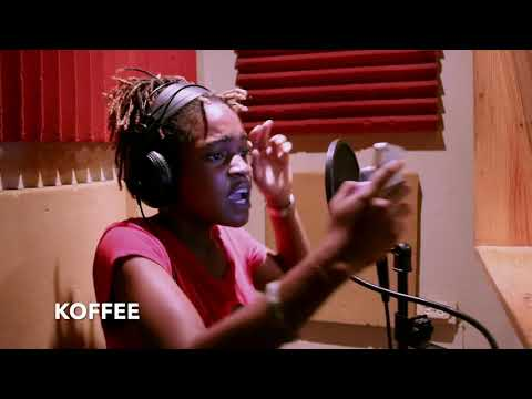 Koffee's First Time In Studio YOUTUBE