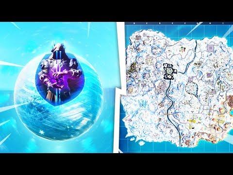 KULA SIĘ OTWIERA.. Cała Mapa w Śniegu już Dzisiaj!