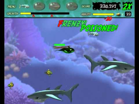 Feeding Frenzy 1 gameplay level 31 to 40