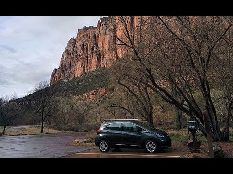 Chevy Bolt EV Zion National Park to Ventura Road Trip (Feb 12, 2017)