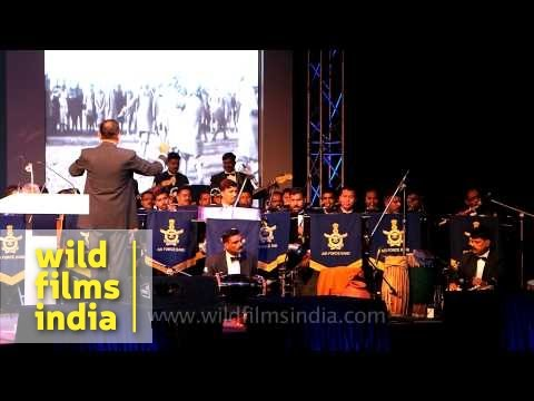 Indian Air Force band plays 'Aye mere watan ke logon'