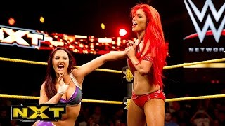 Eva Marie vs. Cassie: WWE NXT, July 22, 2015