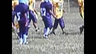 2012 85lb Midwest Bearcats #1 Rashad Debose Jr. touchdown run