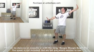 Boogie Woogie Bugle Boy Intermediate Tap Dance Choreography by Rod Howell