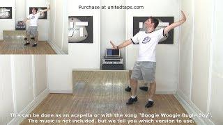 Boogie Woogie Bugle Boy Intermediate Tap Dance Choreography by Rod Howell