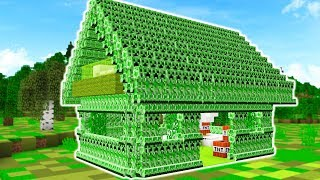 HOW TO MAKE A CREEPER HOUSE IN MINECRAFT! thumbnail