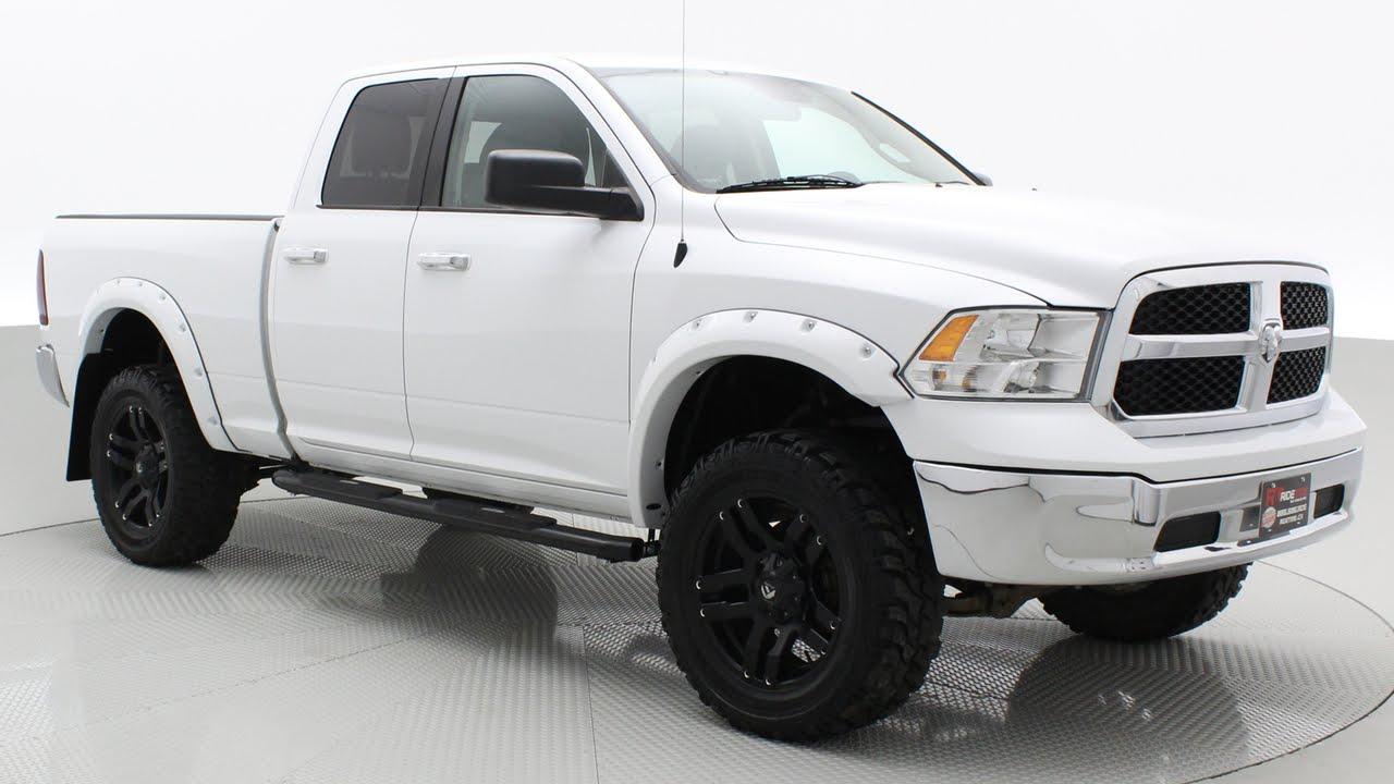 Lifted 2013 Ram 1500 Slt 4wd By Rtxc Canada Youtube Dodge Jacking Points