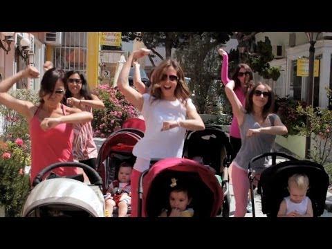 Gangnam Style - Hàn Quốc PSY- video của mẹ và bé cực độc đáo !