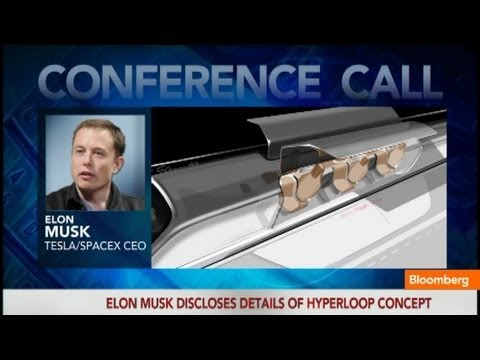 Elon Musk Unveils Designs for Hyperloop