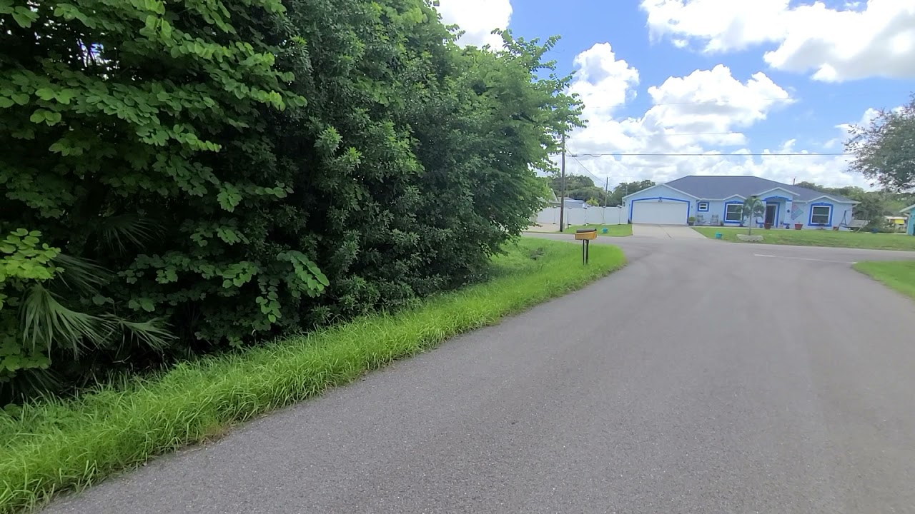 0.24 Acres – Corner Lot With Utilities! In Port Charlotte, Charlotte County FL