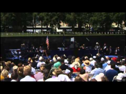 President Obama at the Vietnam Wall, Memorial Day 2012
