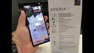 Sony Xperia 1 na Electronics Show 2019
