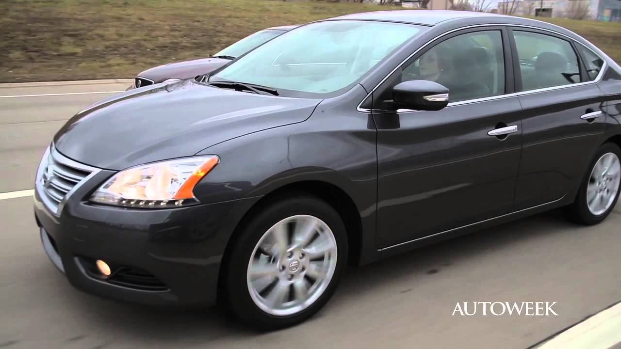 2013 Nissan Sentra SL   Autoweek Drive Review   YouTube