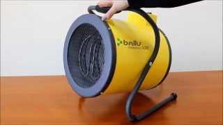 видео Электрическая тепловая пушка Ballu BFH/S-06