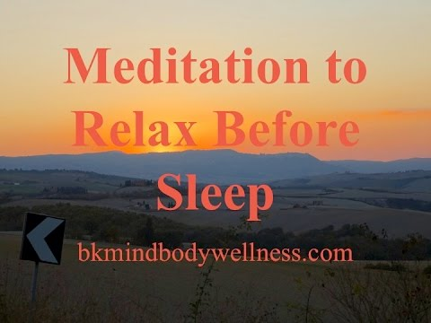 Meditation To Relax Before Sleep