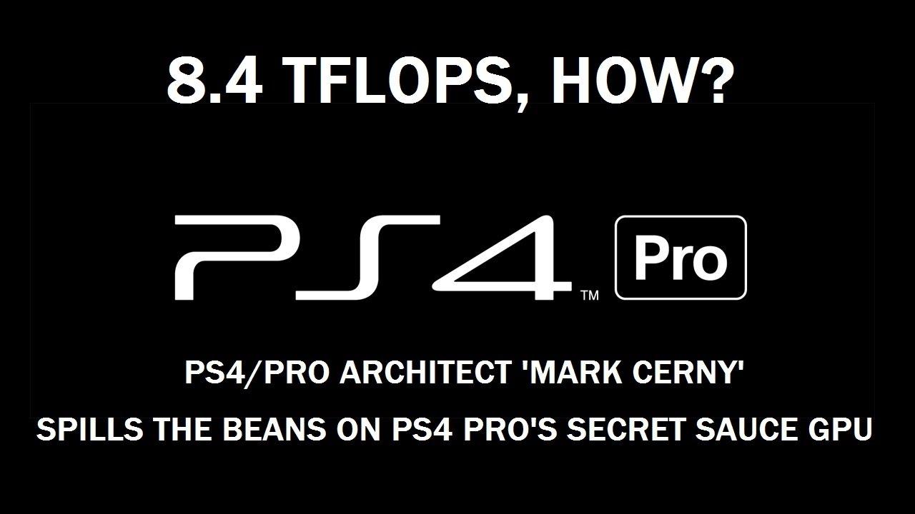 PS4 Pro *Max 8 4 TFLOPS GPU Smart Compute +1GB Extra Ram!