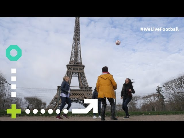 FIFA Fan Movement are stars in Paris