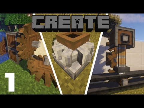 Гайд по Create 1.15.2 #1 Основы