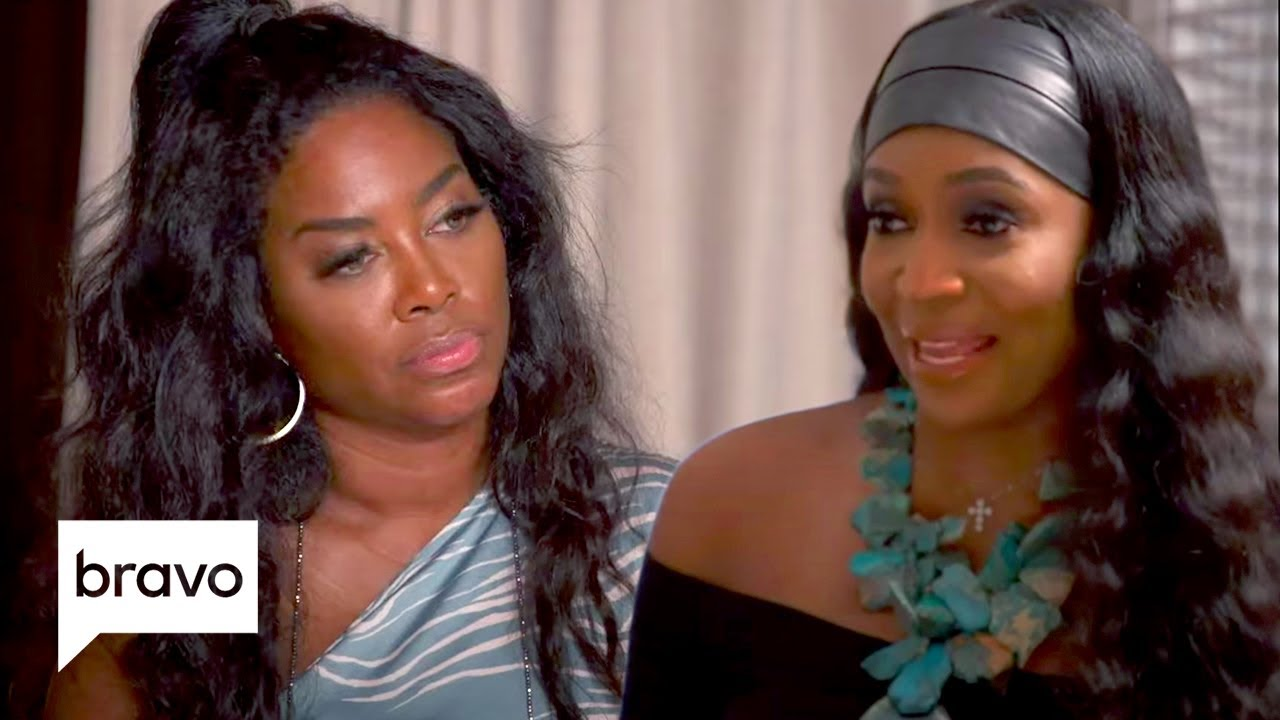 Cynthia Bailey Tries to Help Mend Kenya and Marlo's Friendship | RHOA Highlights (S13 Ep10)