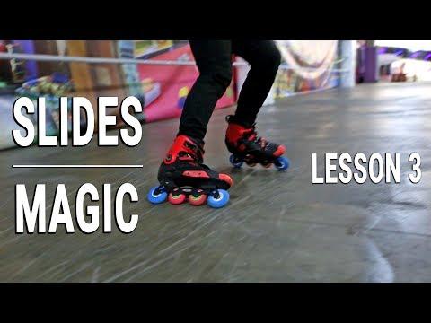 Slides on skates - MAGIC SLIDE LESSON. FIRST VIDEO IN 2019! Mp3