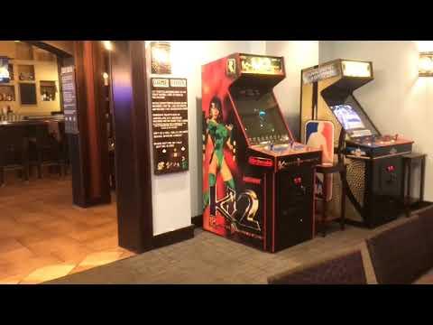 Tour of LFG retro gaming bar in Kalamazoo