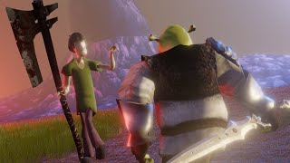 Shrek VS Shaggy  Battle For The Last N Word Pass reupload