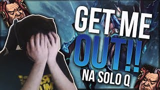 DYRUS • GET ME OUT!! BOOSTED SOLO QUEUE ADVENTURE!