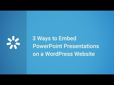 Powerpoint presentation wordpress