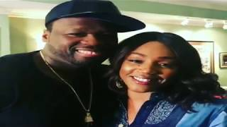 Tiffany Haddish & 50 Cent are dating! comedian & Power star are a couple! #50Central #50CentralBET