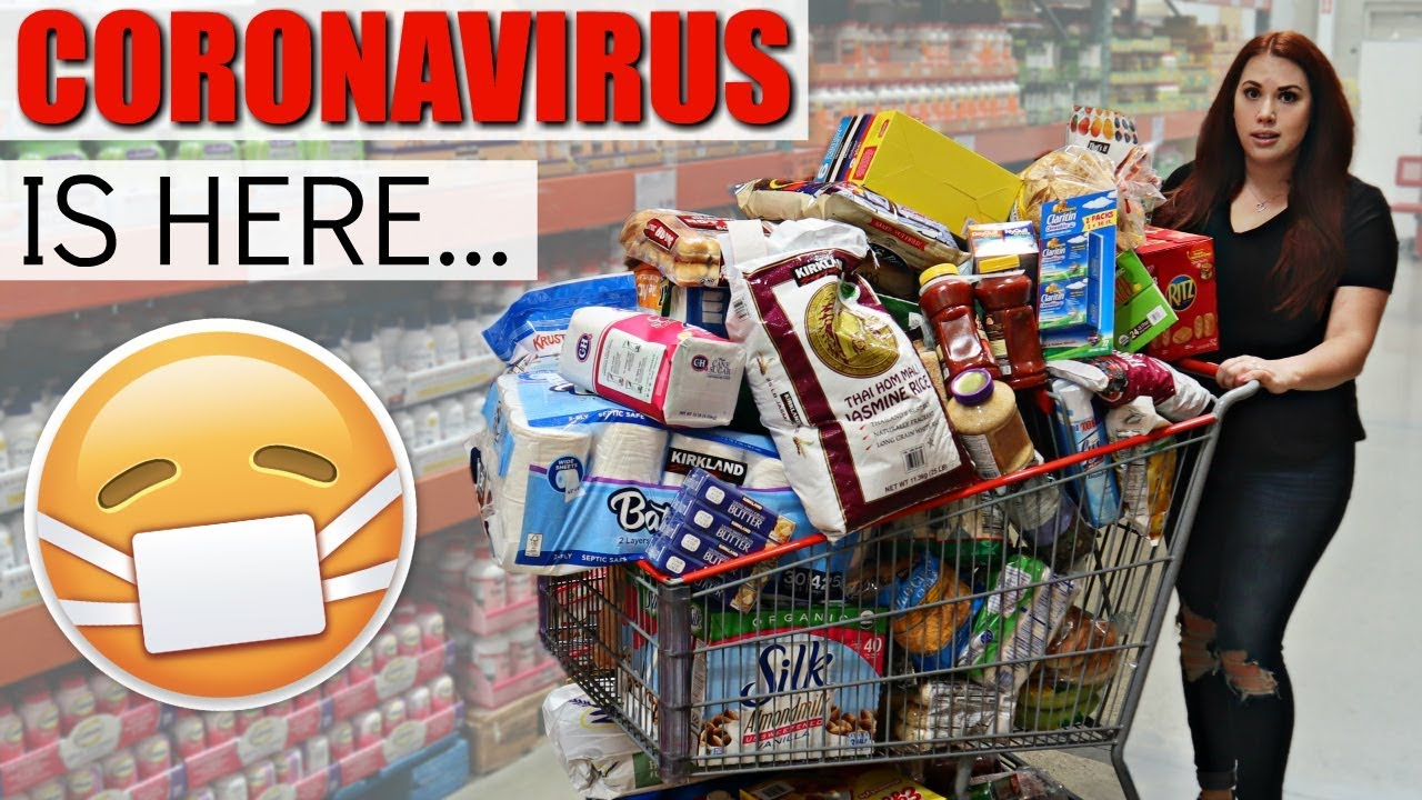 EMERGENCY CORONAVIRUS PREP...MASSIVE COSTCO HAUL FOR OUR BIG FAMILY!