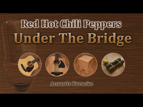 Under The Bridge - Red Hot Chili Peppers (Acoustic Karaoke)