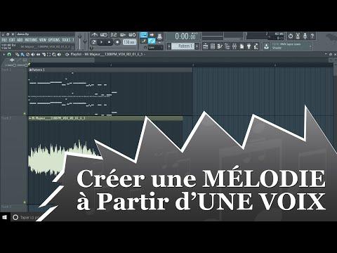 Production Musicale : Créer une MÉLODIE à Partir d'UNE VOIX Dans FL Studio