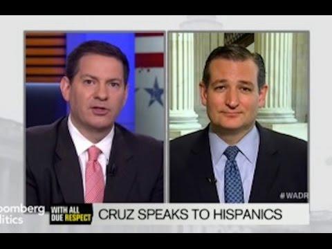 Mark Halperin Bloomberg Interview Of Ted Cruz Racist?