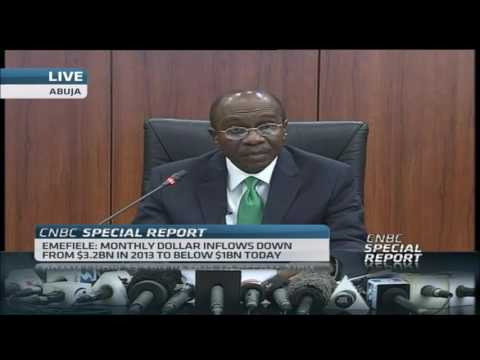 CBN Governor's  Briefing On New Monetary Policy