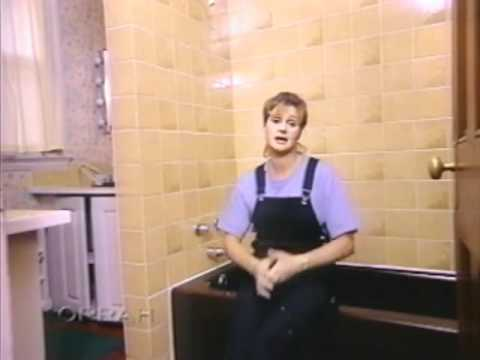How To: Painting Bathroom Tiles