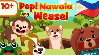 Pop Goes the Weasel in Filipino | Awiting Pambata Compilation Rhymes