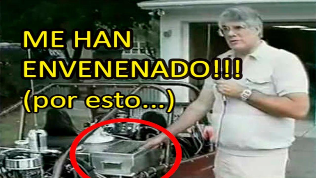 Me han envenenado dijo el inventor del motor de agua - Motor de fuente de agua ...