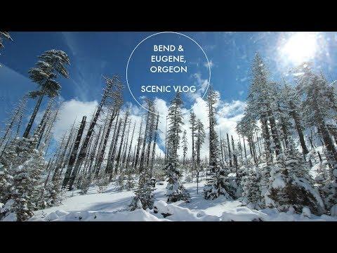 Bend & Eugene, Oregon Area- Scenic Vlog