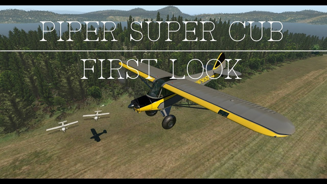 youtube how to fly a piper cub