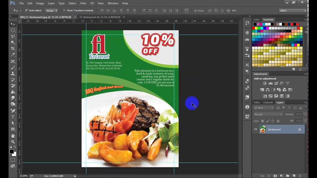 Super Restaurant Flyer Design - YouTube ZN13