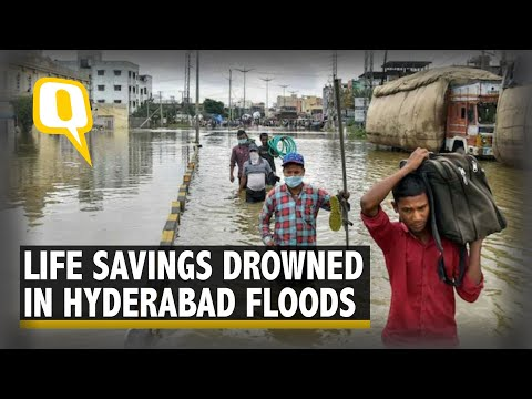 Hyderabad Floods: Residents Claim Water Levels Reached up to 8 Metres | The Quint