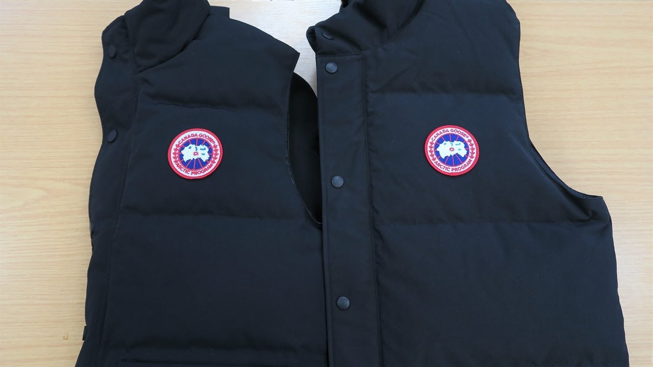 HOW TO SPOT A FAKE CANADA GOOSE VEST | Authentic vs Replica Canada Goose Gilet Review