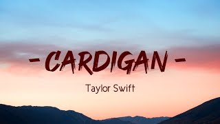 "Taylor Swift - Cardigan ""Cabin in candlelight"" Version (Lyrics)"