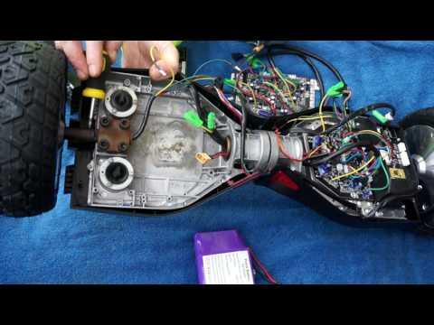 "Tutoriel Hoverboard Kiwane  8.5"" , Comment réparer mon Hoverboard Tout Terrain Hummer"